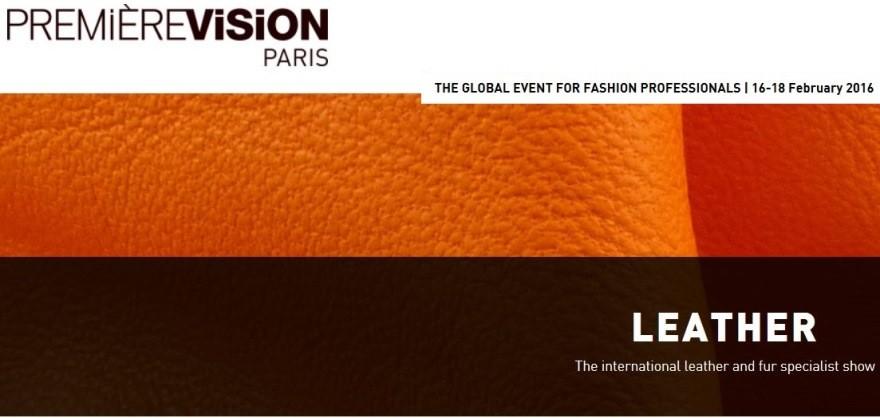 Premiere Vision Paris 2016 Leather