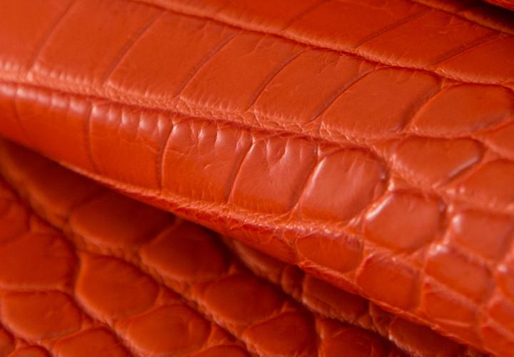 Nile Crocodile Leather Nuvola Lux
